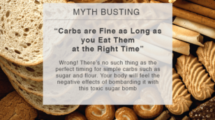 myth busting carbs are fine as long as you eat them