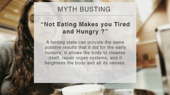 not eating makes you tired and hungry