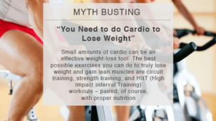 myth busting lose weight