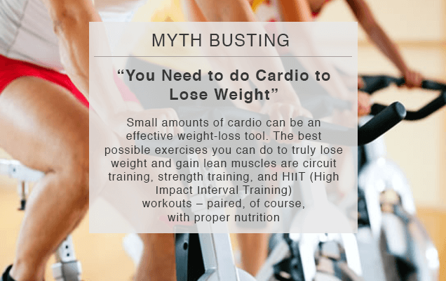 Myth Busting You Need To Do Cardio To Lose Weight Titanium Success