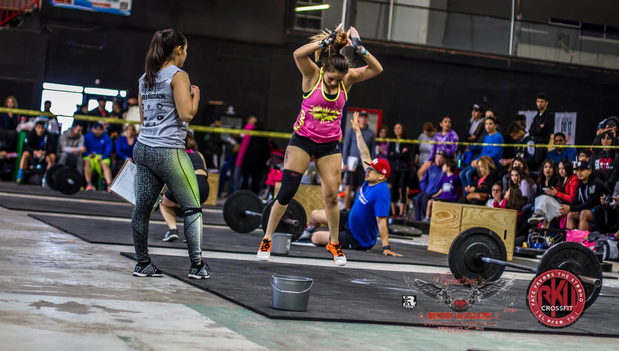 People who crossfit are extremely passionate about their sport
