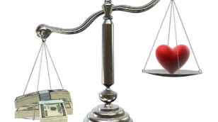 bigstock love or money image
