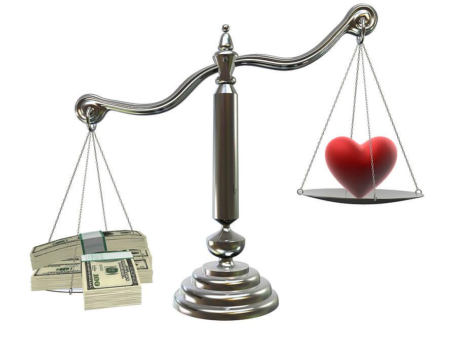 bigstock love or money image