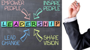 how a leader inspires others to take action