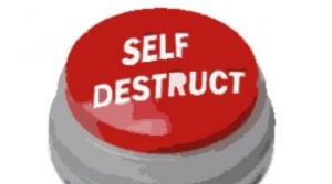 business coaching - the self-destruct button