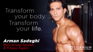 Arman Sadeghi Fitness Seminar Video - TS