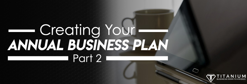 creating your annual business plan