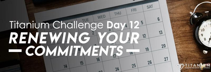 Titanium challenge day 12 podcast