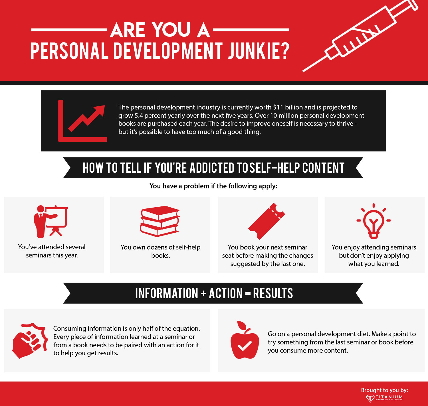 are you a personal development junkie