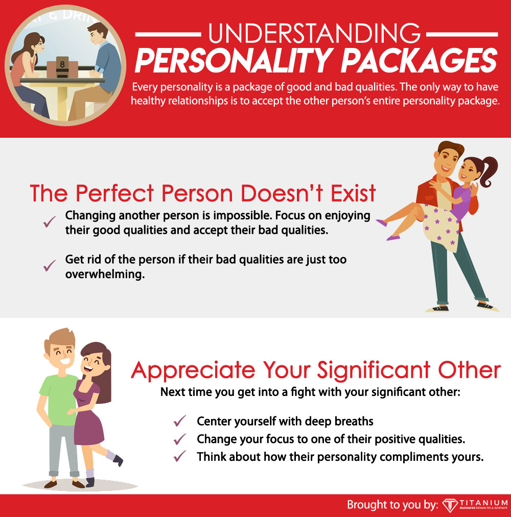 personalities come in packages
