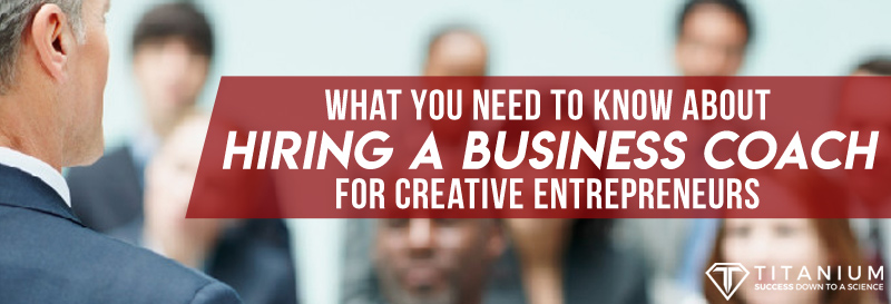 Business Coach For Creative Entrepreneurs Title
