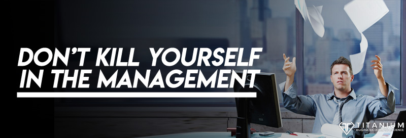 Dont kill yourself in the management podcast