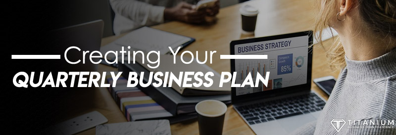 Quarterly plan business podcast