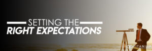 Setting the right expectation podcast